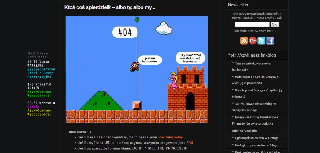 niebiezpiecznik 404