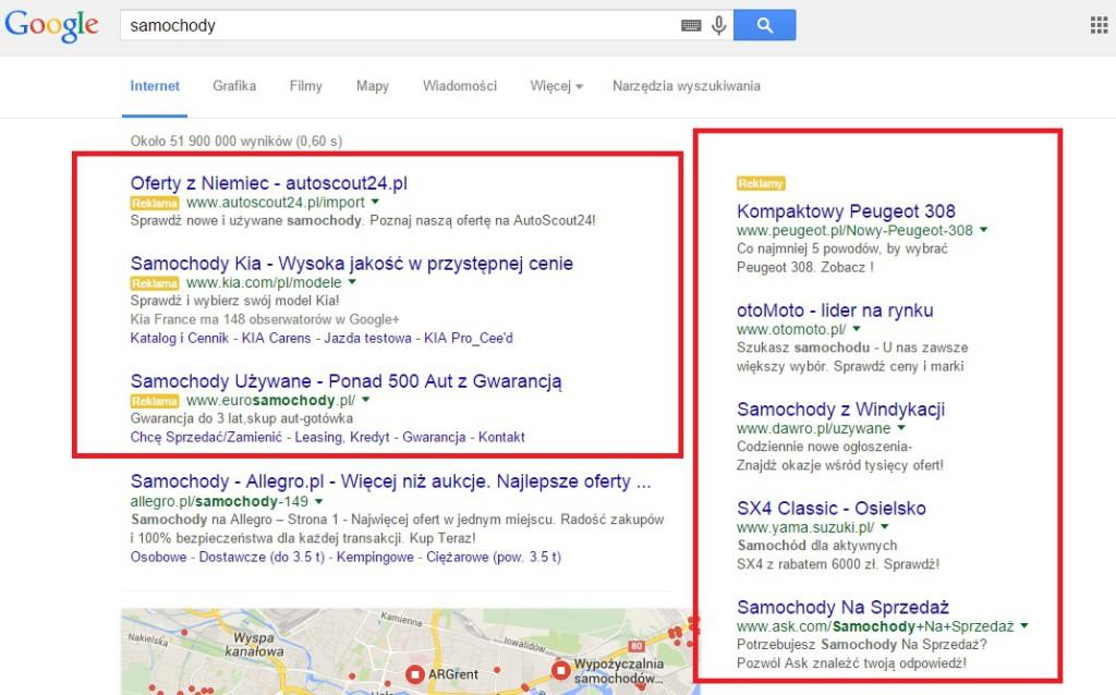 AdWords-reklama-tekstowa-w-wyszukiwarce